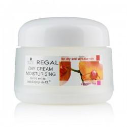 Crema de zi hidratanta pentru pielea uscata si sensibila Regal Natural Beauty 50ml