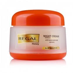 Crema de noapte Regal cu Miere & Lapte 50ml